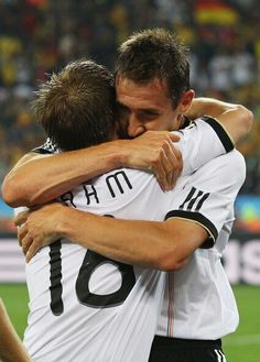 Klose  Lahm #worldcup