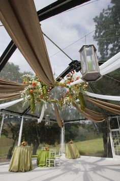 Floral Chandelier by Sasha Souza Events.  Photography by Sherman Chu