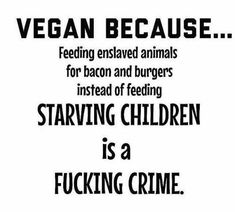 Why go vegan?