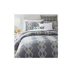 West Elm Coyuchi Organic Diamond Dobby Duvet Cover, Full/Queen, Deep... ($149) ❤ liked on Polyvore featuring home, bed & bath, bedding, duvet covers, grey, grey shams, gray bedding, organic bedding, west elm and organic bed linens