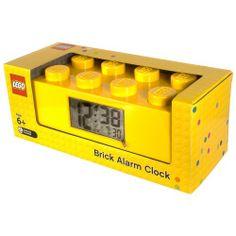 LEGO Wecker gelb http://www.meinspielzeug24.de/lego-wecker-gelb #Unisex #Uhren/Wecker