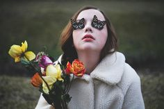 the flowers may be dead but i am alive II. by little body big heart on Flickr.