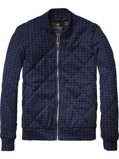 Quilted Bomber Jacket | Inbetweens Jackets | Men's Clothing at Scotch & Soda