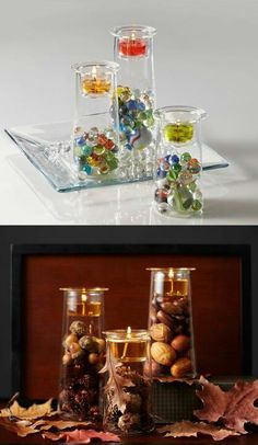 Partylite Clearly Creative Symmetry Trio http://www.partylite.biz/tawnischaad #diy #candles
