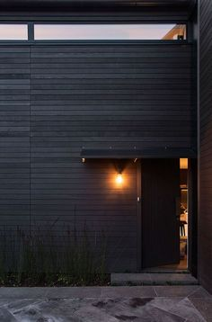 Thompson House By Collective Office Shou Sugi Ban ORE