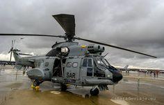 Super Puma AS332B. 75 aniversario Ejercito del Aire