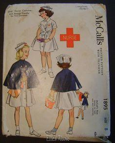 McCall's 1895: nurse costume - so cute