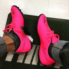 #pink #nike #mercurial by kmkz94