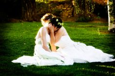 "Find and save images from the ""lesbian wedding"" collection by Spence Christenson (SpencerChristensonSL) on We Heart It, your everyday app to get lost in what you love. Lesbian Wedding, Wedding Pics, Dream Wedding, Wedding Ideas, Hair Wedding, Cute Lesbian Couples, Lesbian Love, Love And Marriage, Wedding Inspiration"