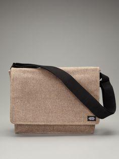 Jack Spade Accessories  Waxed Wool Weekend Messenger