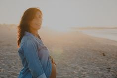 Beach Maternity Session by Hello Twiggs