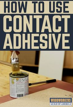 Contact adhesive is the preferred adhesive for adhering plastic laminate to a substrate. But the way contact adhesive is used is different from most other adhesives. If you don't apply it correctly, you won't have good adhesion. Check out these contact adhesive tips to make sure that once your laminate gets stuck, it stays stuck.