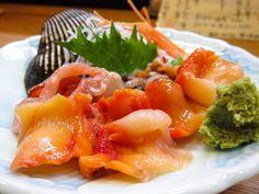 'aka-gai sashimi', Pepitona Clam  It was able to be taken in Aomori Prefecture. but, I have not taken.