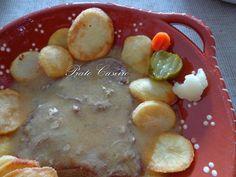 Bife da Vazia com Molho Cervejeira, Batata Frita às Rodelas e Pickles | por Prato Caseiro | feito com o nosso piri-piri em aguardente