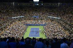 nice Huge Tennis Stadium