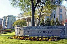 Belmont University in Nashville, Tenn. My mother went to high school here when it was a girls' boarding and day school, Ward-Belmont. College Campus, College Fun, College Life, College Football, University Search, Belmont University, University Life, College Search, Dream School