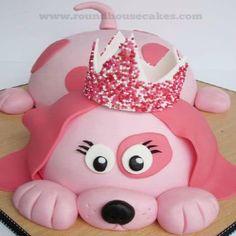 12 Puppy Shaped Cakes Pink Photo - Puppy Dog Birthday Cake Ideas, Pink Dog Cake and Puppy Dog Birthday Cake Dog Cakes, Baby Cakes, Cupcake Cakes, Pretty Cakes, Cute Cakes, Awesome Cakes, Cupcakes Decorados, Puppy Cake, Doggie Cake