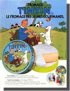 Tintin, le fromage des jeunes gourmands