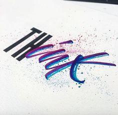 "Love the juxtaposition!   910 Likes, 3 Comments - Hand Drawn Type (@typedrawn) on Instagram: ""Artwork via @stephanelopes . . . 🎉Design Shop @instadesket 🖥 Office setup inspiration:…"""