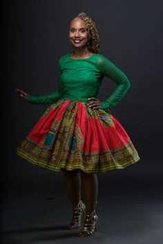 African Clothing: K I J A N I Belle Skirt The by LiLiCreations