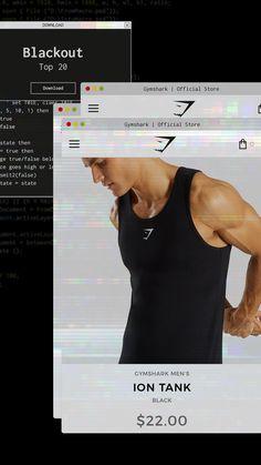 fbedbd55ede502 Lex reppin39 the Gymshark Ion Stringer during his workout Vision