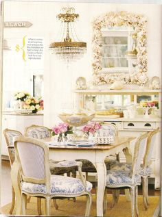 Country French Dining