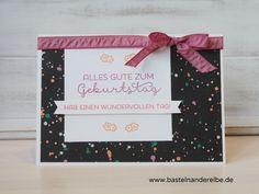 basteln an der Elbe, Geburtstagskarte, birthdayy card, In Color 2016-2018, Stampin Up
