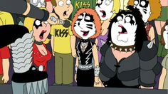 Family Guy will join rock band KISS for a new product line which should hit stores this fall. Read the details here: