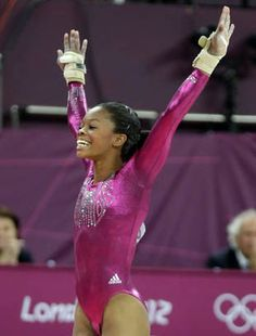 Gabby Douglas earns America's sweetheart title with all-around gold #Olympics (AP)