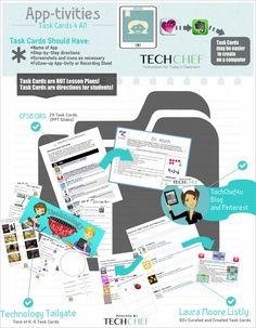 100+ iPad Task Cards shared today at  http://www.techchef4u.com/ipad/100-task-cards-4-all-plug-and-play-8-0/