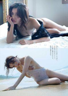 グラビア復帰した山崎真実(30)がノーブラノーパンのシースルー衣装で乳首透けてるww - エロチカ