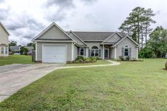 4202 Damon Ct, Wilmington, NC 28405 Berkleigh at Northchase      MLS: 523426     Bedrooms: 3     Baths: 2     Partial Baths: 0     SQ FT: 1491     Lot Size: .26     Style: Ranch     Garage: 1 Car     Heat Source: Electric     Schools: New Hanover (Elementary School: Castle Hayne Element; Middle School: Trask; High School: Laney)