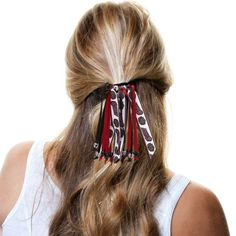 Temple Owls Women's Beaded Streamer Scrunchie - $11.99