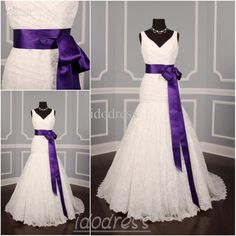 sashes on pinterest purple wedding dresses bridal sash and purple