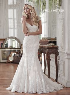 maybe too tight through the hips, but the lace style, neckline and back are perfect
