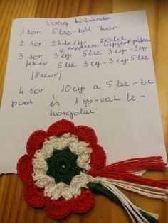 Free Crochet, Crochet Hats, Crochet Necklace, Crochet Patterns, Diy, Amigurumi, Flowers, Manualidades, Creative