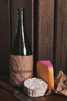 Chardonnay + Gouda and Brie