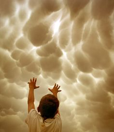 .Remember when you used to try to move the clouds with your mind... =)