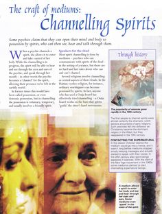 Channelling Spirits