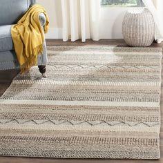 $537 | Safavieh Handmade Natura Beige Wool Rug (8' x 10')
