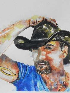 Tim McGraw on Throw Pillows.Click to view available sizes and styled products