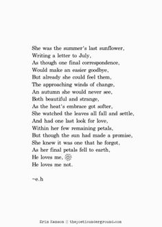 Petals and Promises http://thepoeticunderground.com/ #poem #poetry