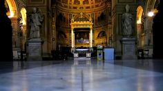 San Lorenzo in Damaso (Saint Lawrence in the House of Damasus) is a basilica church in central Rome, Italy. It is incorporated into the Palazzo della Cancelleria. According to tradition, in the 380s a basilica church was built by Pope Damasus I in his own house