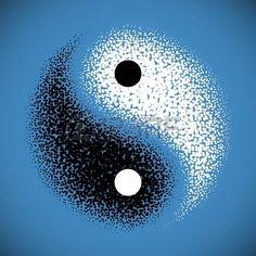 Ying Et Yang, Yen Yang, Arte Yin Yang, Yin Yang Art, Mandala Drawing, Mandala Painting, Dot Painting, Jing Y Jang, Yin Yang Designs