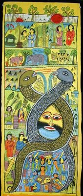 Indigo Arts Gallery | Art from Asia | Indian Folk Painting 2c