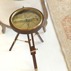 Compass Side Table   Tables   Ballard Designs
