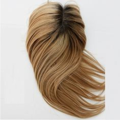 We are best High Density Remy Human Hair Toppers Clips On Top Hair Pieces For Women With Serious Hair Loss suppliers,we supply best peruki systemowe for sale. Brown With Blonde Highlights, Brown To Blonde, Blonde Roots, Blonde Wig, Remy Human Hair, Human Hair Wigs, Hairpieces For Women, Brown Ombre Hair, Hair Toppers