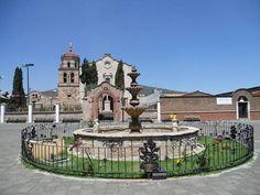 Fuente de la capilla de Nahuatzen - Michoacan