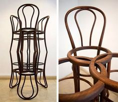 "Pablo Reinoso ""Thonet Chairs"" 2005"