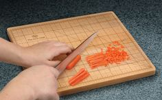 Precision Is Critically Important, Hence: The OCD Chef Cutting Board (via ThinkGeek)